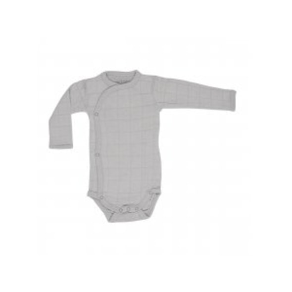 LODGER ROMPER SOLID LONG SLEEVES MIST VEL. 56