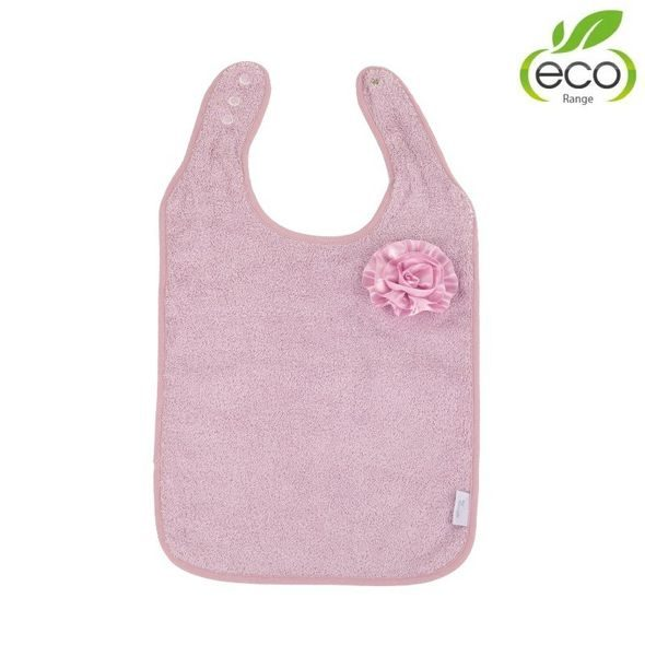 BO JUNGLE BRYNDÁČEK B-BIB ECO PINK FLOWER