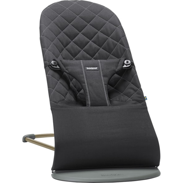 BABYBJÖRN LEHÁTKO BOUNCER BLISS BLACK COTTON