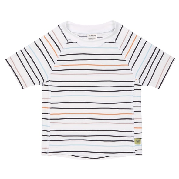 LÄSSIG SPLASH SHORT SLEEVE RASHGUARD LITTLE SAILOR PEACH 12 MO.