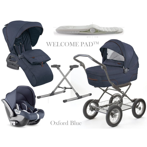 INGLESINA QUAD CAB 4V1 2019 OXFORD BLUE / PODVOZEK BIKE