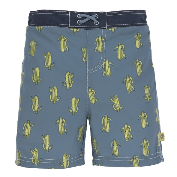 LÄSSIG SPLASH BOARD SHORTS BOYS CACTUS FAMILY 18 MO.