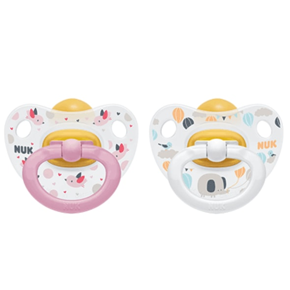 NUK DUDLÍK  HAPPY KIDS,LA,V3 (18+M.) BOX 1KS