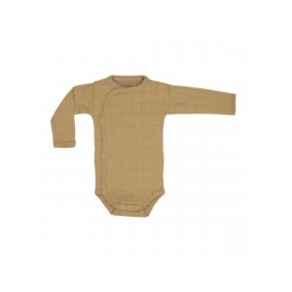LODGER ROMPER SOLID LONG SLEEVES HONEY VEL. 56