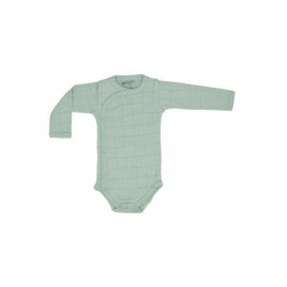 LODGER ROMPER SOLID LONG SLEEVES SILT GREEN VEL. 62