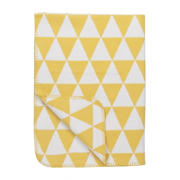 MEYCO DEKA ORGANIC 120X150 CM TRIANGLE YELLOW