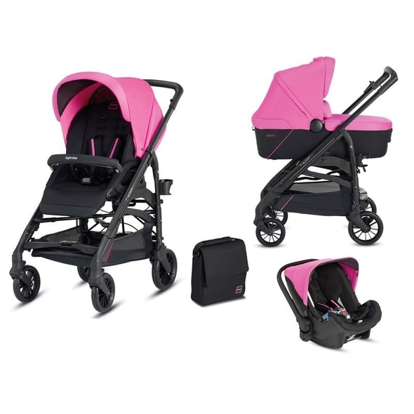INGLESINA TRILOGY SYSTEM COLORS 3V1 2016 PEGGY PINK