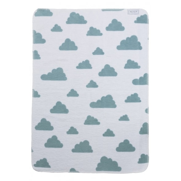 MEYCO DEKA 75X100 CM LITTLE CLOUDS STONE GREEN