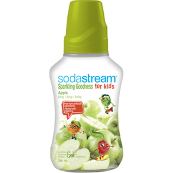 SODASTREAM PŘÍCHUŤ APPLE GOOD-KIDS 750 ML SODA