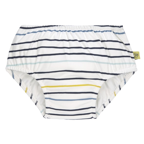 LÄSSIG SPLASH SWIM DIAPER BOYS LITTLE SAILOR NAVY 12 MO.
