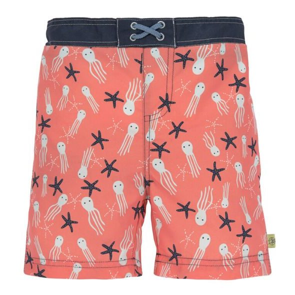 LÄSSIG SPLASH BOARD SHORTS BOYS JELLY FISH 12 MO.