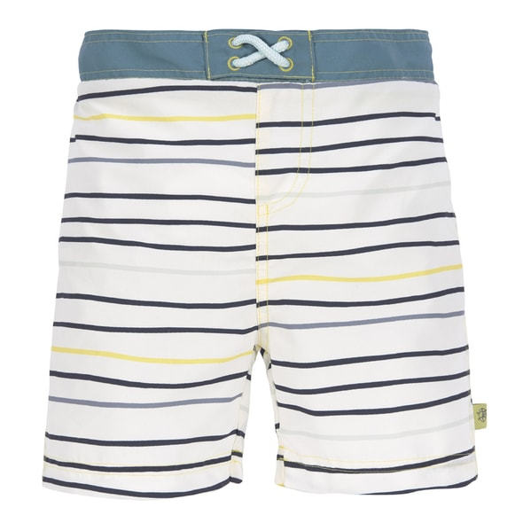 LÄSSIG SPLASH BOARD SHORTS BOYS LITTLE SAILOR NAVY 24 MO.