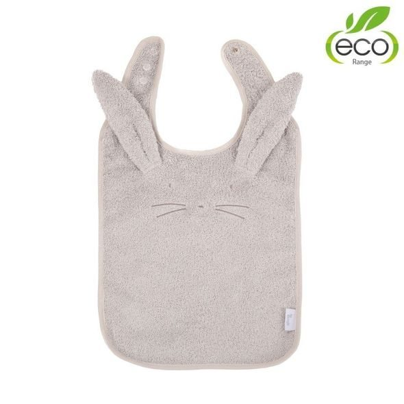 BO JUNGLE BRYNDÁČEK B-BIB ECO GREY RABBIT
