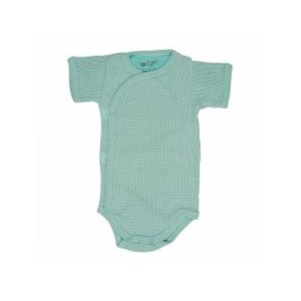LODGER ROMPER SHORT SLEEVES CIUMBELLE SILT GREEN VEL. 74