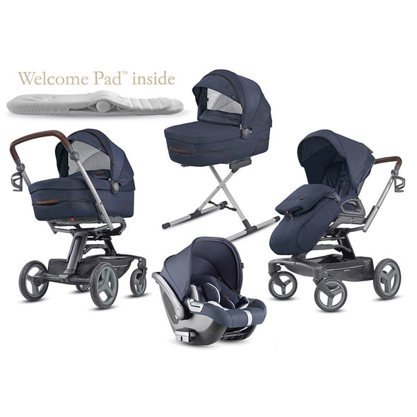 INGLESINA QUAD CAB 4V1 2019 OXFORD BLUE / PODVOZEK QUAD