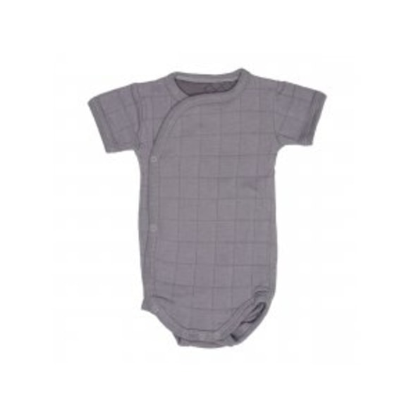 LODGER ROMPER SOLID SHORT SLEEVES DONKEY VEL. 68