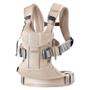 Babybjorn ONE Pearly Pink 3D Mesh