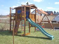Jungle Playhouse s terasou XL a moduly