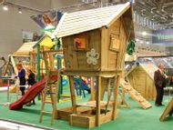 Domeček Crazy Playhouse s Crazy Terasou
