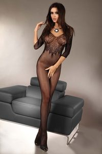 Bodystocking Josslyn black XXL