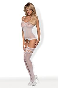 Bodystocking F214 white