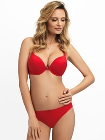 Push up podprsenka Dolly 16872 red