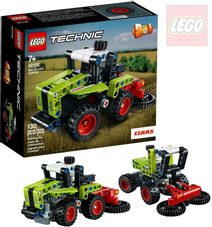 LEGO TECHNIC Model Mini Claas Xerion 2v1 42102 STAVEBNICE
