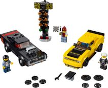 LEGO SPEED CHAMPIONS Dodge Challenger + Dodge Charger 75893 STAVEBNICE