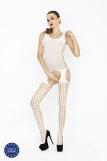 Bodystocking BS029 white