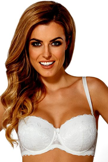 Push-up podprsenka Elise II white