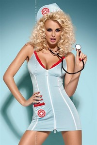 Sexy kostým Doctor dress + stetoskop