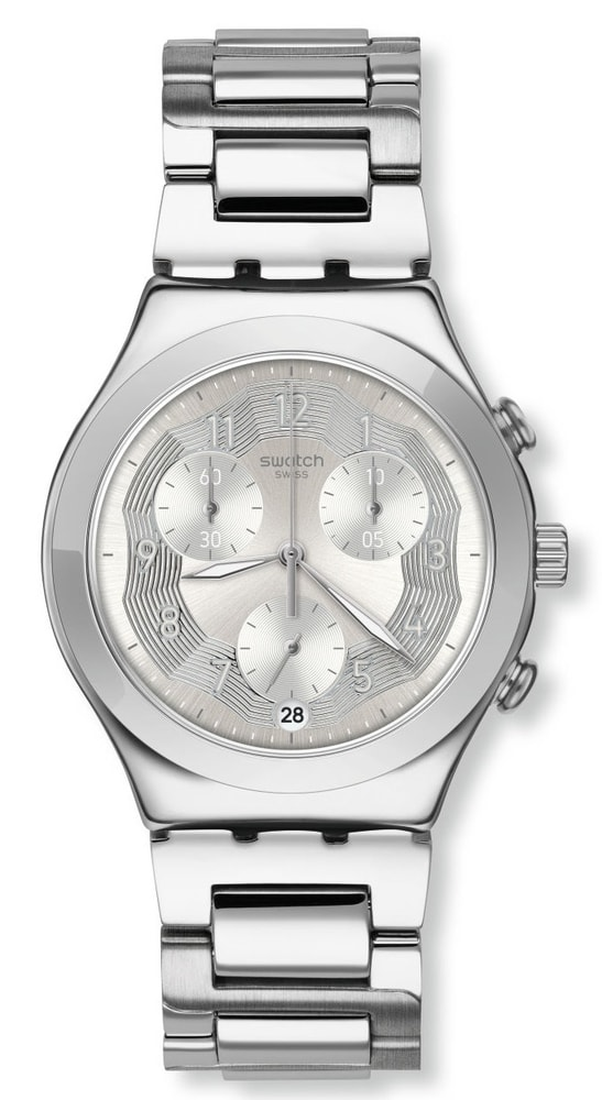 Swatch Silver Ring YCS604G
