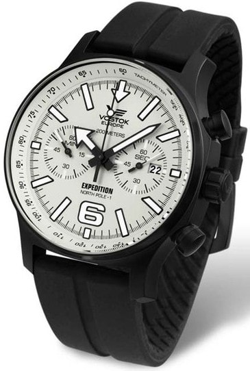 Vostok Europe Expedition -NORTH POLE-1- Chrono 6S21-5954200S