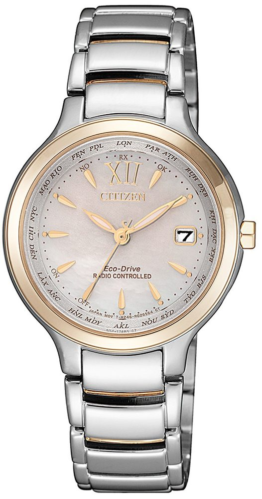 Citizen Eco-Drive Funkuhr EC1174-84D