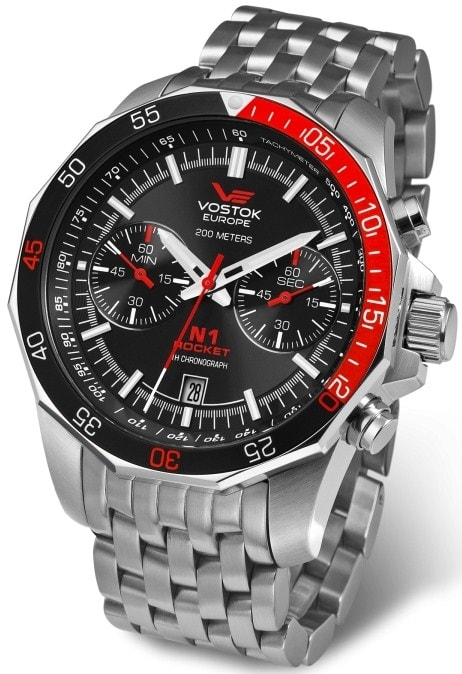 Vostok-Europe N1 Rocket Chrono 6S21-2255295B