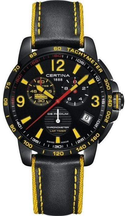 Certina DS Podium Chronograph Lap Timer C034.453.36.057.10