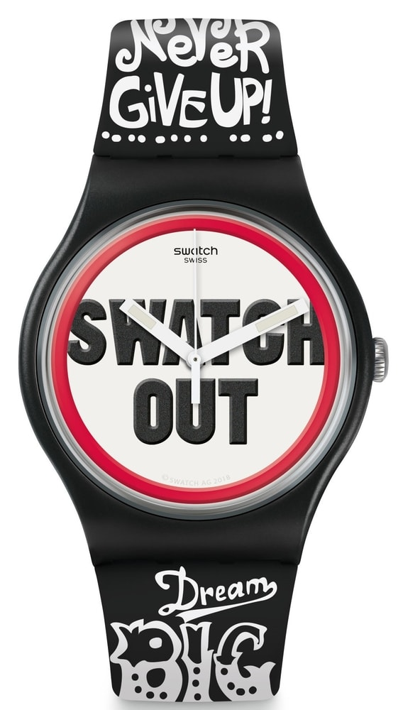 Swatch Listen To Me Swatch Out SUOB160