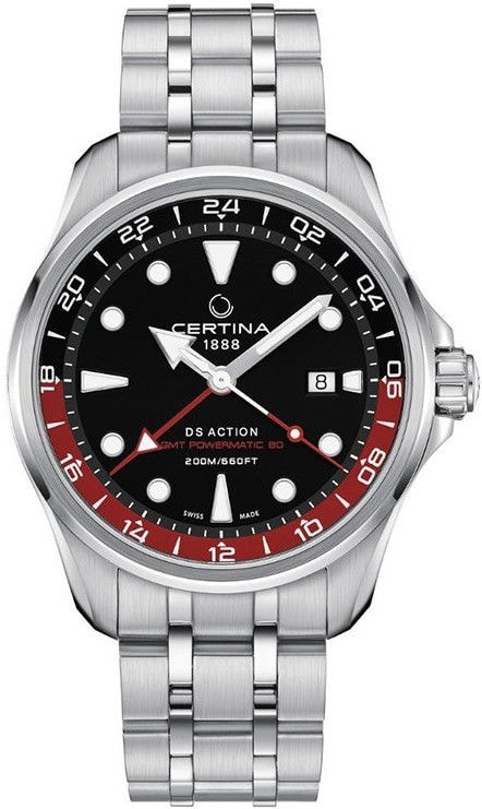 Certina Aqua  DS Action GMT Powermatic 80 C032.429.11.051.00