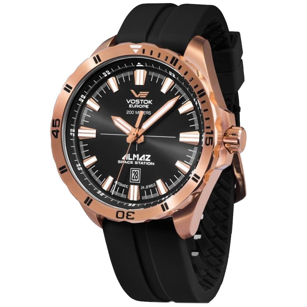 Vostok Europe Almaz Space Station NH35-320B259S