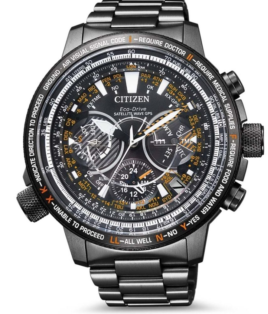 Citizen Satellite Wave Eco-Drive CC7015-55E