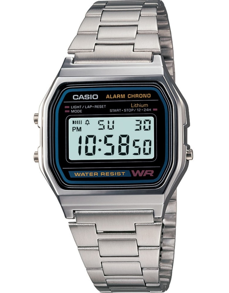 Casio Retro Chronograph A158WA-1DF