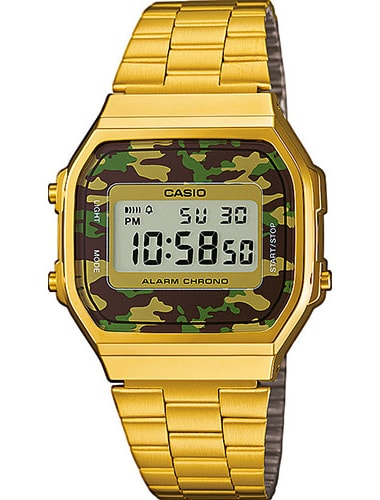 Casio Retro Collection A168WEGC-3EF
