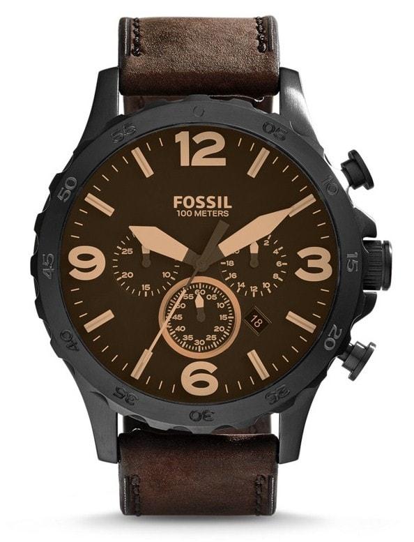 Fossil Nate Chronograph JR1487 - 30 dnů na vrácení zboží Fossil
