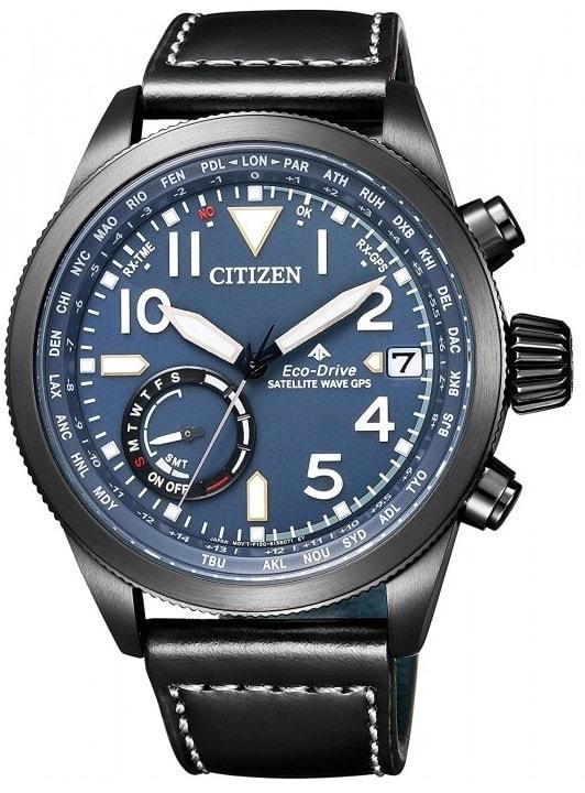 Citizen Eco-Drive Satellite Wave CC3067-11L - 30 dnů na vrácení zboží Citizen