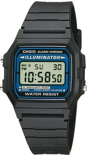 Casio Retro Chronograph F-105W-1AWYEF
