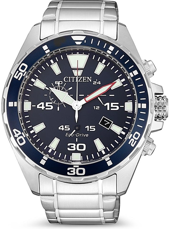 Citien Eco-Drive Chronograph AT2431-87L
