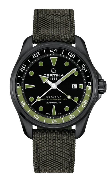 Certina Aqua  DS Action GMT Powermatic 80 C032.429.38.051.00