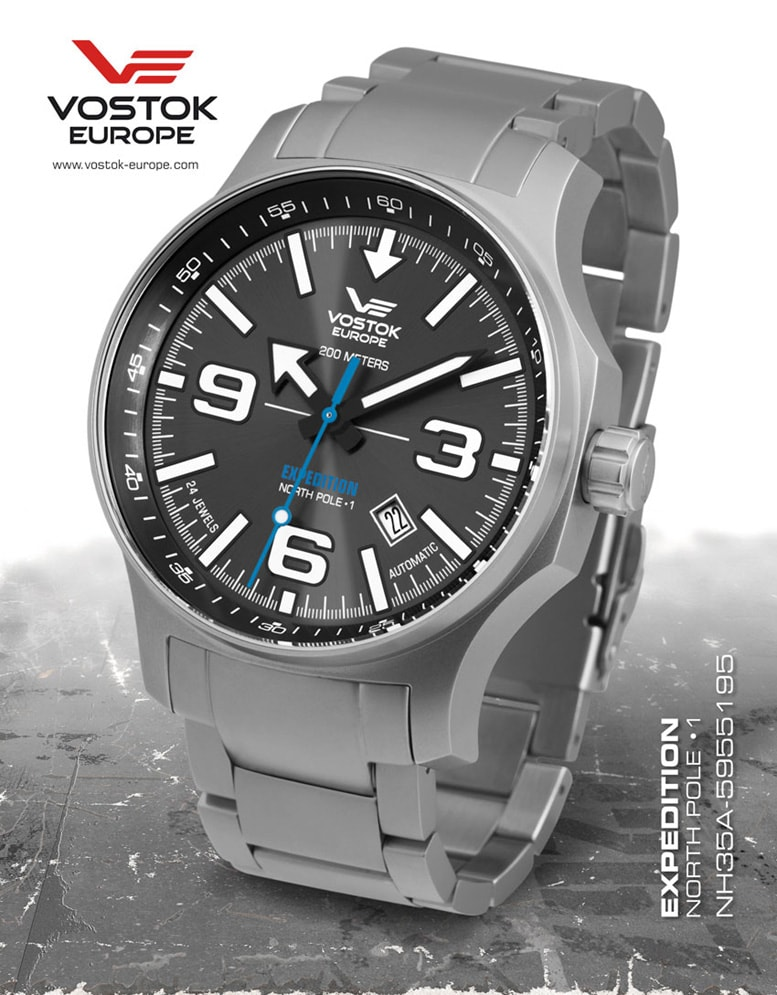 Vostok Europe Expedition -NORTH POLE-1- Automatic NH35-5955195B