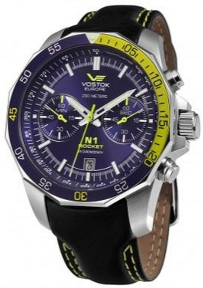 Vostok Europe N 1 Rocket Chrono 6S21-2255253-M