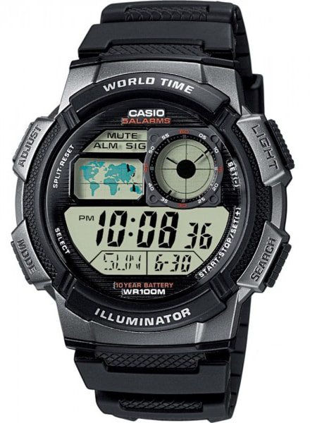 Casio World Timer AE-1000W-1BVEF